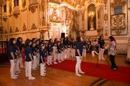 Coro infantil da UFRJ ob a regência de Maria José Chevitarese